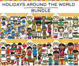 Holidays Around the World Clip Art Bundle