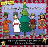 Holidays Around the World - Clip Art, Fun Facts & Printabl