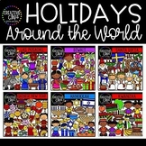 Holidays Around the World Clipart Bundle {Creative Clips Clipart}