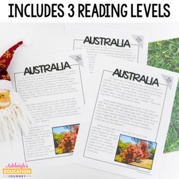 Holidays Around the World - Close Reading Passages {Differentiated}