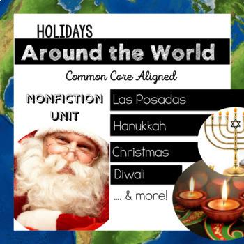 Holidays Around the World {Common Core Aligned}