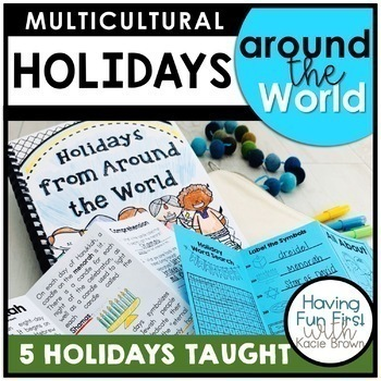 Winter Holidays Around the World Multicultural Nonfiction Unit