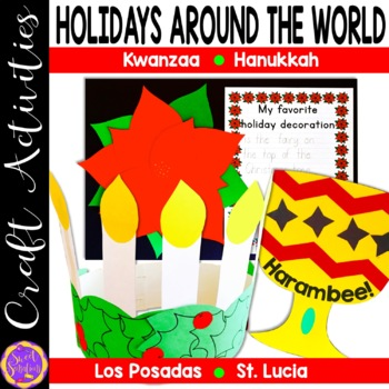 Holidays Around the World Craft and Writing Activities