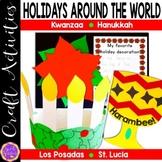 Holidays Around the World Craft and Writing Activities