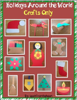 Holidays Around the World Crafts Only
