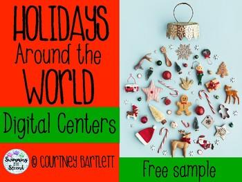 Holidays Around the World Digital Centers - Sample