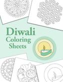 Holidays Around the World: Diwali Coloring Sheets