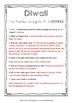 Holidays Around the World - Diwali Research Sheet
