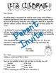 Holidays Around the World **Editable** Parent Invitation,
