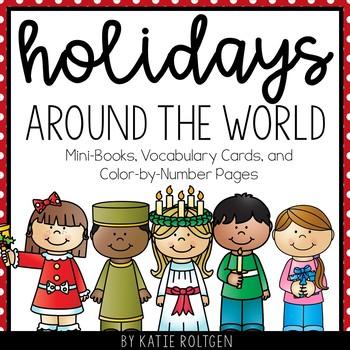 Holidays Around the World Mini Books