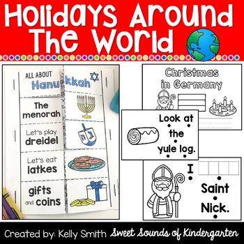 Holidays Around the World Emergent Readers {Christmas Around the World Readers}