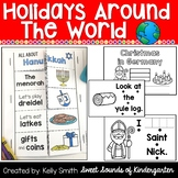 Holidays Around the World Emergent Readers {Christmas Around the World Readers}