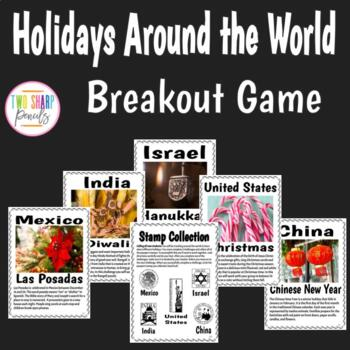Holidays Around the World Escape Room