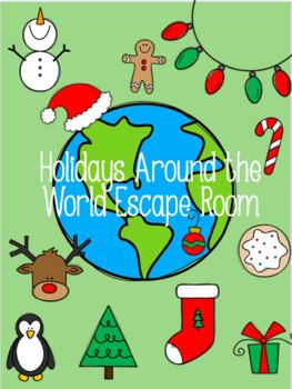 Holidays Around the World Escape Room (Grade 3-4)