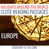 Holidays Around the World: Europe Edition Close Reads
