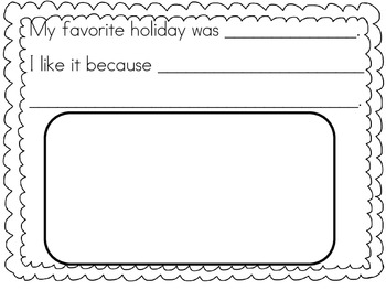 Holidays Around the World Fact Booklet