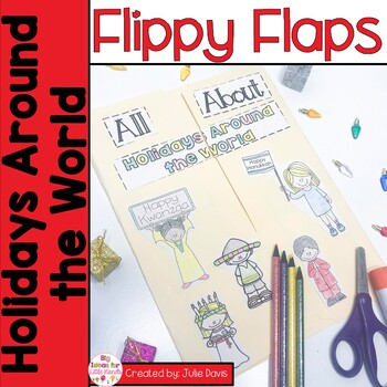 Holidays Around the World Flippy Flaps Interactive Noteboo