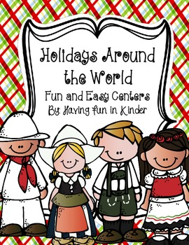 Holidays Around the World Fun and Easy Centers