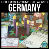 Christmas in Germany | Holidays Around the World Printable Book and Activities