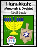 Hanukkah Crafts: Dreidel, Menorah (Holidays Around the World)