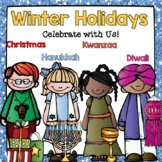 Holidays Around the World (Hanukkah, Diwali, Kwanzaa, and Christmas)