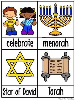 Holidays Around the World   Hanukkah Write the Room Activity Pack