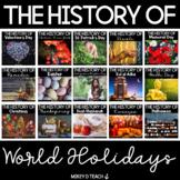 Holidays Around the World | History & Reading | BUNDLE