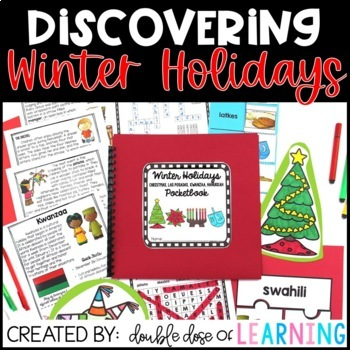 Winter Holidays {MEGA} Research Unit: Christmas, Kwanzaa, Hanukkah & Las Posadas