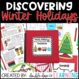 Winter Holidays Research Bundle Unit: Christmas, Kwanzaa, Hanukkah & Las Posadas