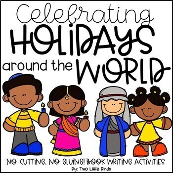Holidays Around the World: Holiday Passages, Foldable Books