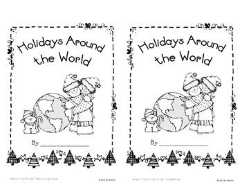 Holidays Around the World - Interactive Mini-Book