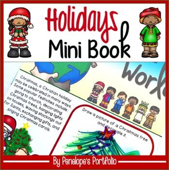 Holidays Around the World Mini Book