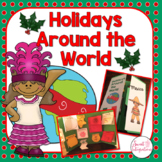 HOLIDAYS AROUND THE WORLD LAPBOOK OR NOTEBOOK   Country Research With Templates