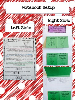 Holidays Around the World: Interactive Student Notebook