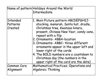 Holidays Around the World- Intermediate