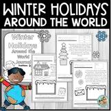 Holidays Around the World  Kindergarten & 1st Grade Journal