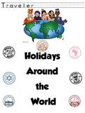 Holidays Around the World Journal and Passport Freebie
