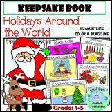 Holidays Around the World Keepsake Book 15 Countries Diffe