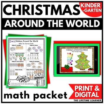 Holidays Around the World Math Kindergarten