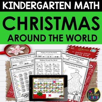 Holidays Around the World Math Kindergarten