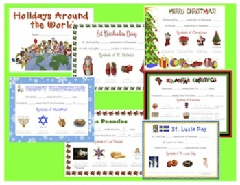 Holidays Around the World LITERACY UNIT
