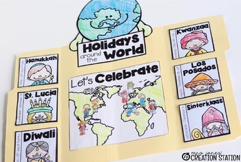 Christmas Around the World Lapbook