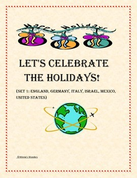 Let's Celebrate the Holidays!