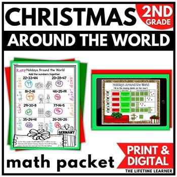 Holidays Around the World Math Second Grade