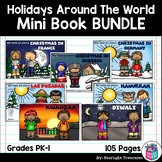 Holidays Around the World Mini Book BUNDLE for Early Readers - Diwali, Kwanzaa