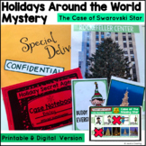 Holidays Around the World Mystery- An Inferencing Mystery Activity