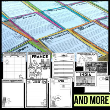 Holidays Around the World | PROJECTS | passport | CRAFTS | bundle