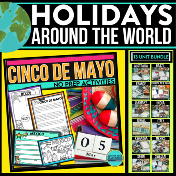 HOLIDAYS AROUND THE WORLD passport PROJECTS crafts SCRAPBOOK reading passages