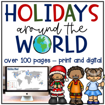 Holidays Around the World PACK! 12 Countries!!!