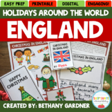 Holidays Around the World Packet - Christmas in England - Printable and Digital!